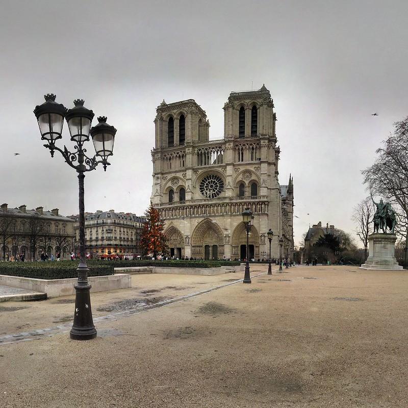 Cathédrale Notre-Dame de Paris - 08-12-2007 - 9h49