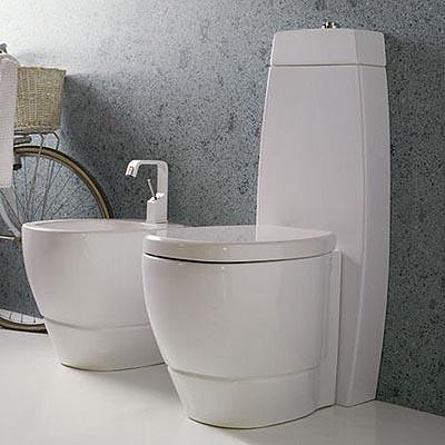 Cuarto de ba o moderno por disegno ceramica for Tazas para bano modernas