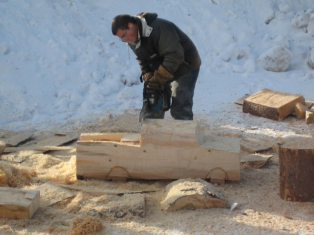 Chainsaw carving truck flickr photo sharing
