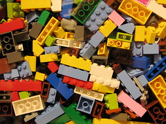 Lego Bricks by Benjamin Esham CC-BY-SA