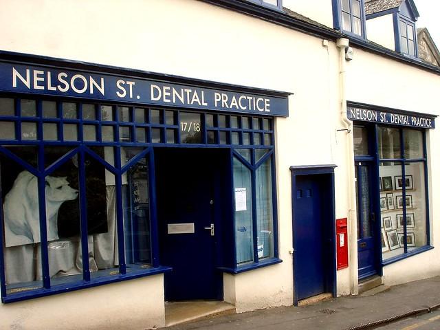 New dentist office.