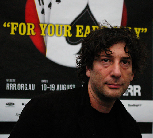 INTERVIEW GUESTS- ZERO-G SCIENCE FICTION, FANTASY & HISTORICAL RADIO SHOW 3RRR FM MELBOURNE, AUSTRALIA: NEIL GAIMAN