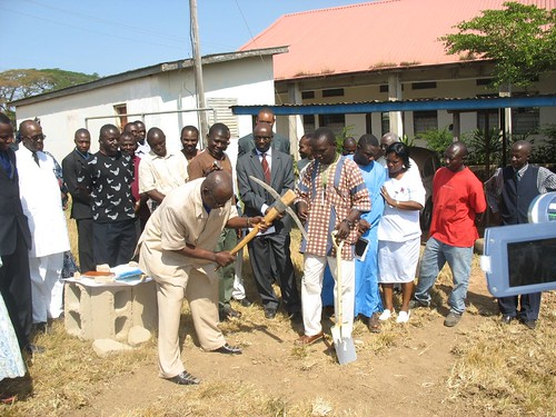 Mortuary groundbreaking