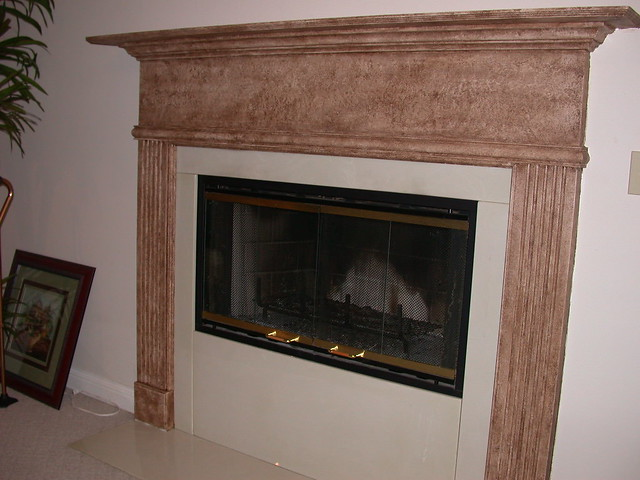 faux stone fireplace flickr photo sharing