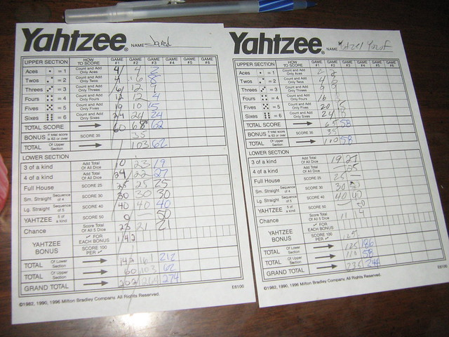 Yahtzee Bonus