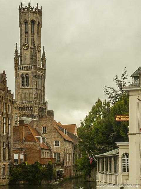 Torre Belfort y el canal