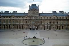 Paris - Musée du Louvre - Cour Carrée