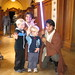 "Matthew and Ewan with the ""Jedis"""