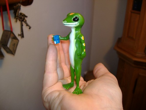 We Love the Geico Gecko! ...