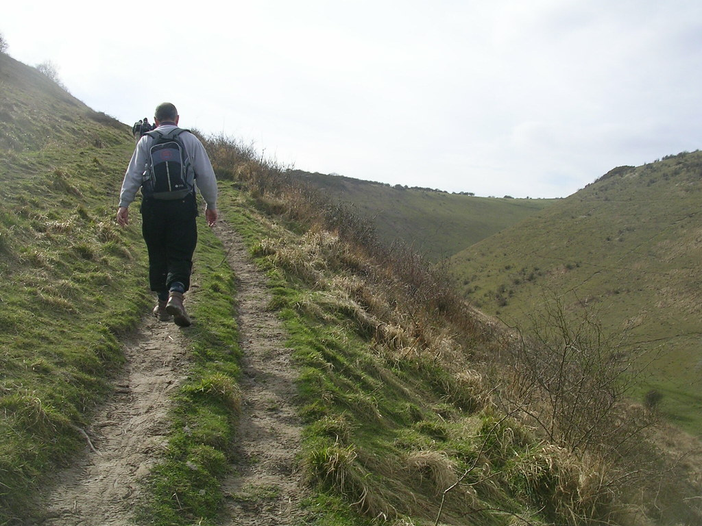 Devil's Dyke - the climb Hassocks to Upper Beeding