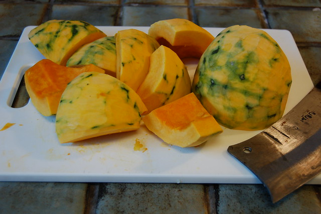 Kabocha Awaiting Cleaver
