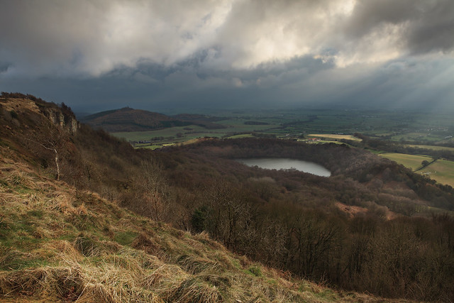 Gormire Lake from Sutton Bank