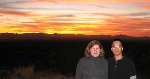 sunset arizona tucson saguaronationalpark signalhill alysonhurt robpongsajapan saguaronationalparkwest