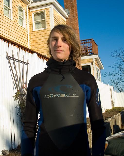 Portrait in a Wetsuit