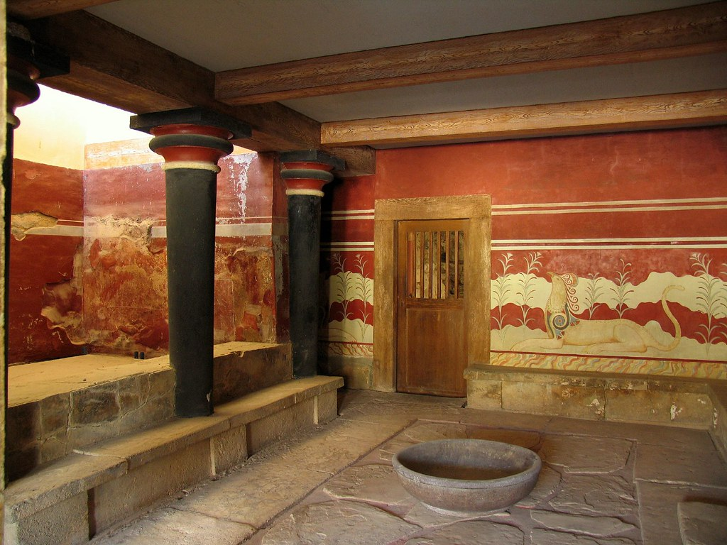 Knossos - Crete - Greece