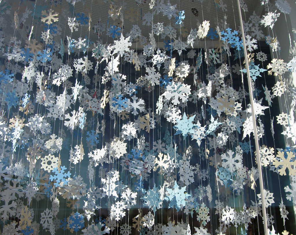 paper snowflakes | Flickr - Photo Sharing!