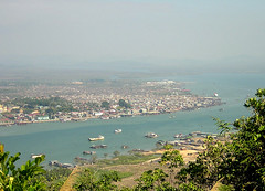 Myanmar - View on Myeik