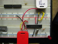 breadboard, circuit component, microcontroller, electrical wiring, electronics, electrical network,