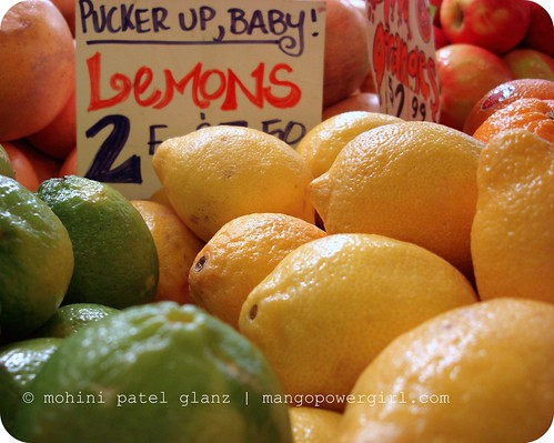 lemons - pucker up, baby!