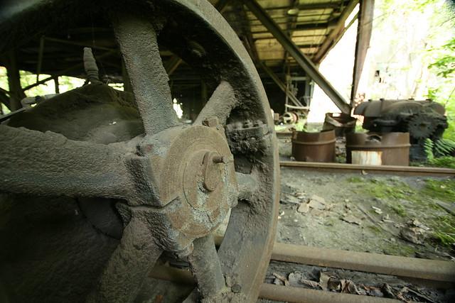 Header of rail in