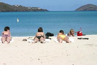 Image of  Magens Bay Beach  near  Charlotte Amalie. cruise stthomas usvi princesscaribbean