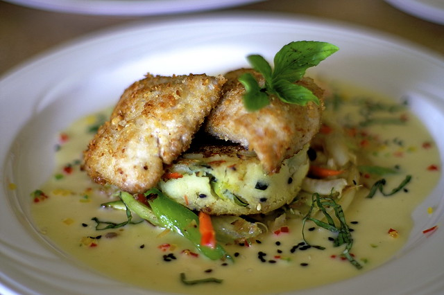 Macadamia Nut Crusted Mahi Mahi with Chile Coconut Butter … | Flickr ...