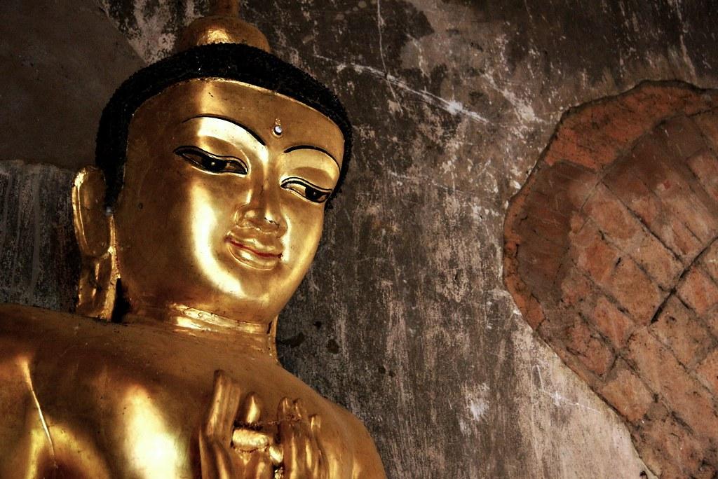 A Bagan Buddha