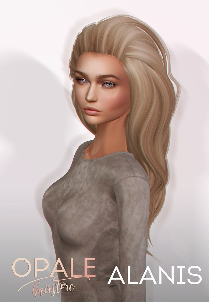 Opale Hair . Alanis @ Tres Chic February 2017 - SecondLifeHub.com