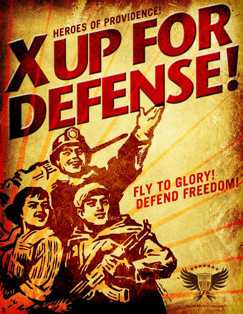 X Up For Defense!