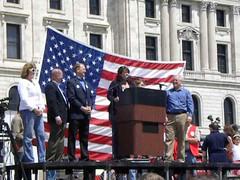 Video of Republican legislators at the Minnesota Tax Cut Rally 2011