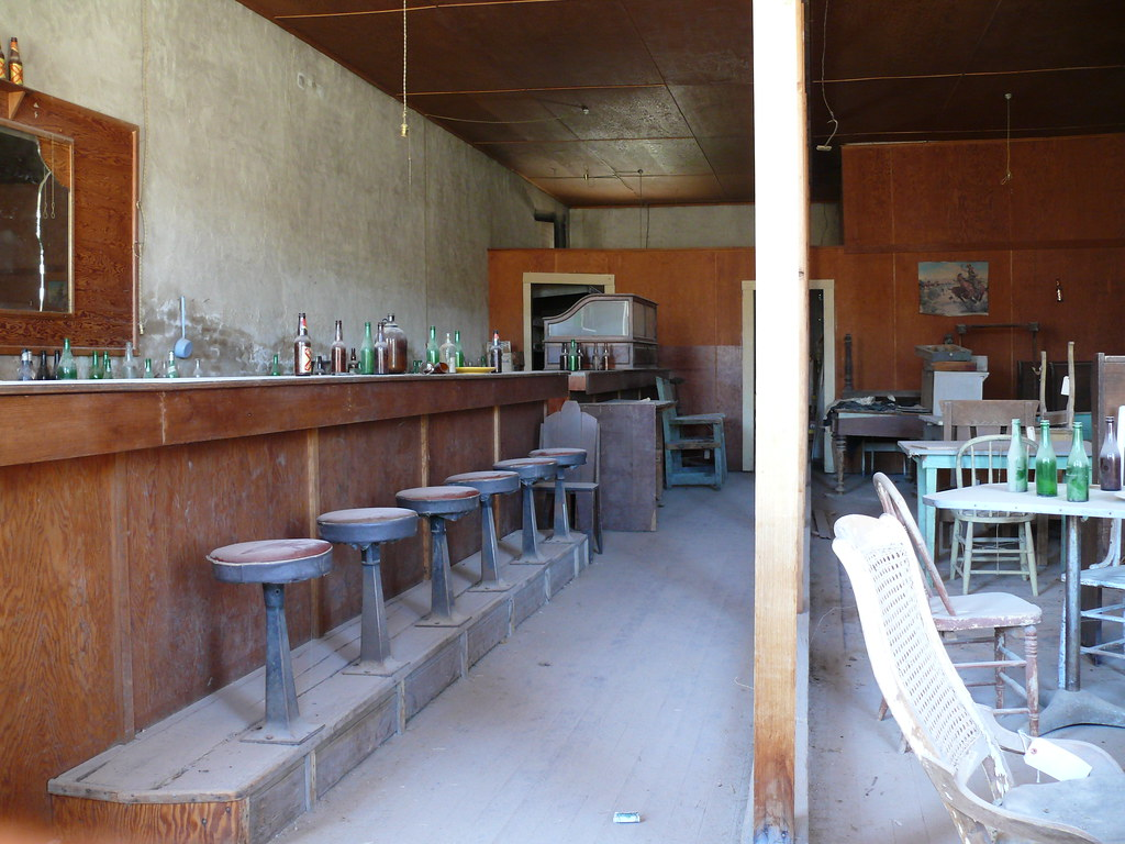 Saloon Interior Ghost Town Of Bodie Ca A Photo On