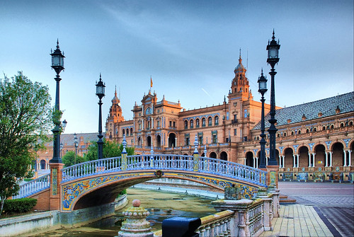 Sevilla. Plaza de España.