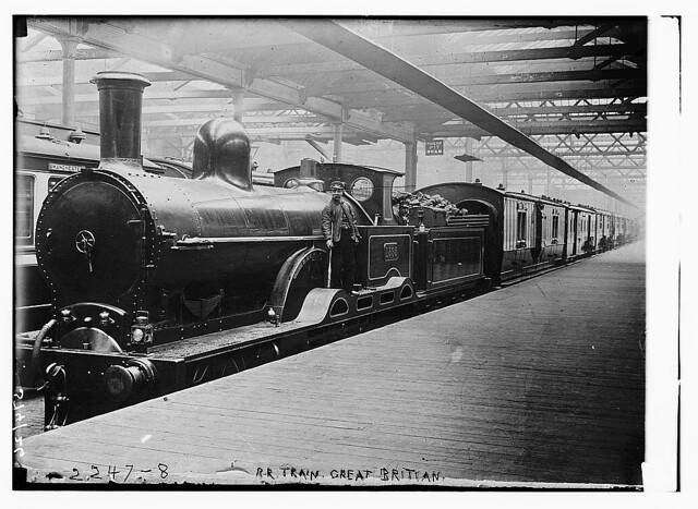 RR Train, Great Britain (LOC)