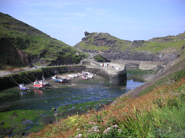 Boscastle, Cornwall, E...