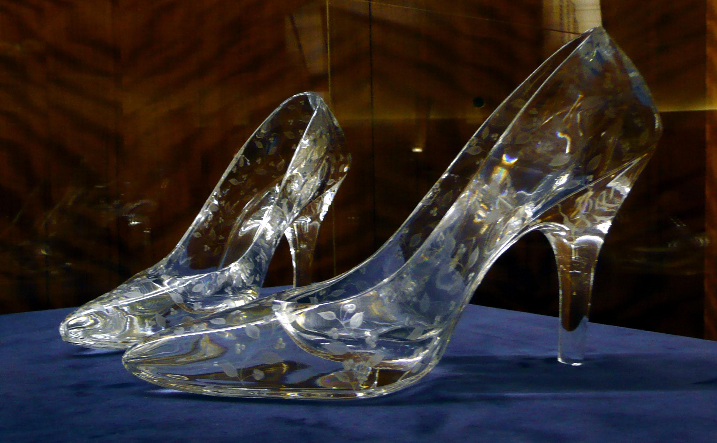 Gold Heels Shoe Show