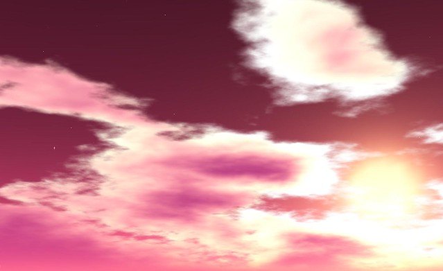 Beautiful skies in WindLight