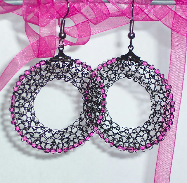 Crochet Pattern Central - Free Earrings Crochet Pattern Link Directory
