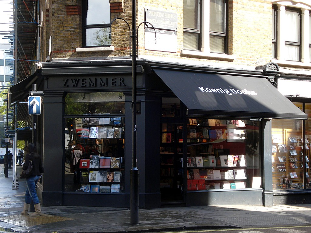Koenig Books, Charing Cross Road, London WC2