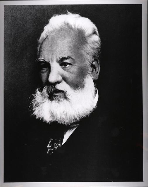 Portrait of Alexander Graham Bell (1847-1922), Engineer