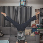 Feb 17 - Straddle Handstand