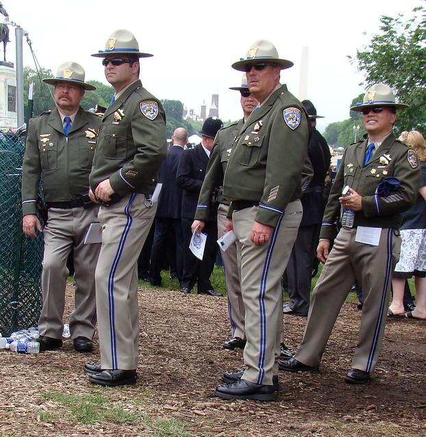 highway patrol uniform