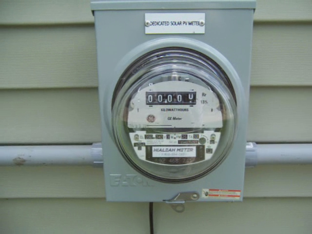 Solar Panel Meter : Solar panel electric meter flickr photo sharing