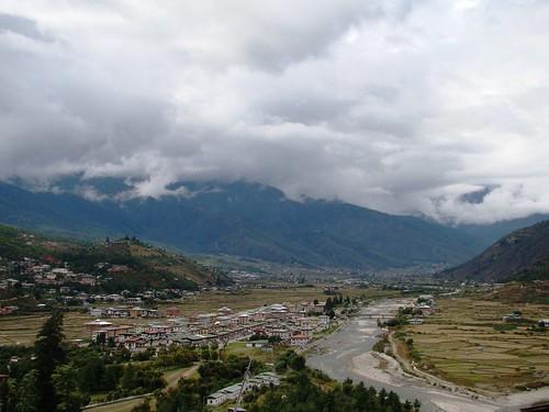 the town of paro
