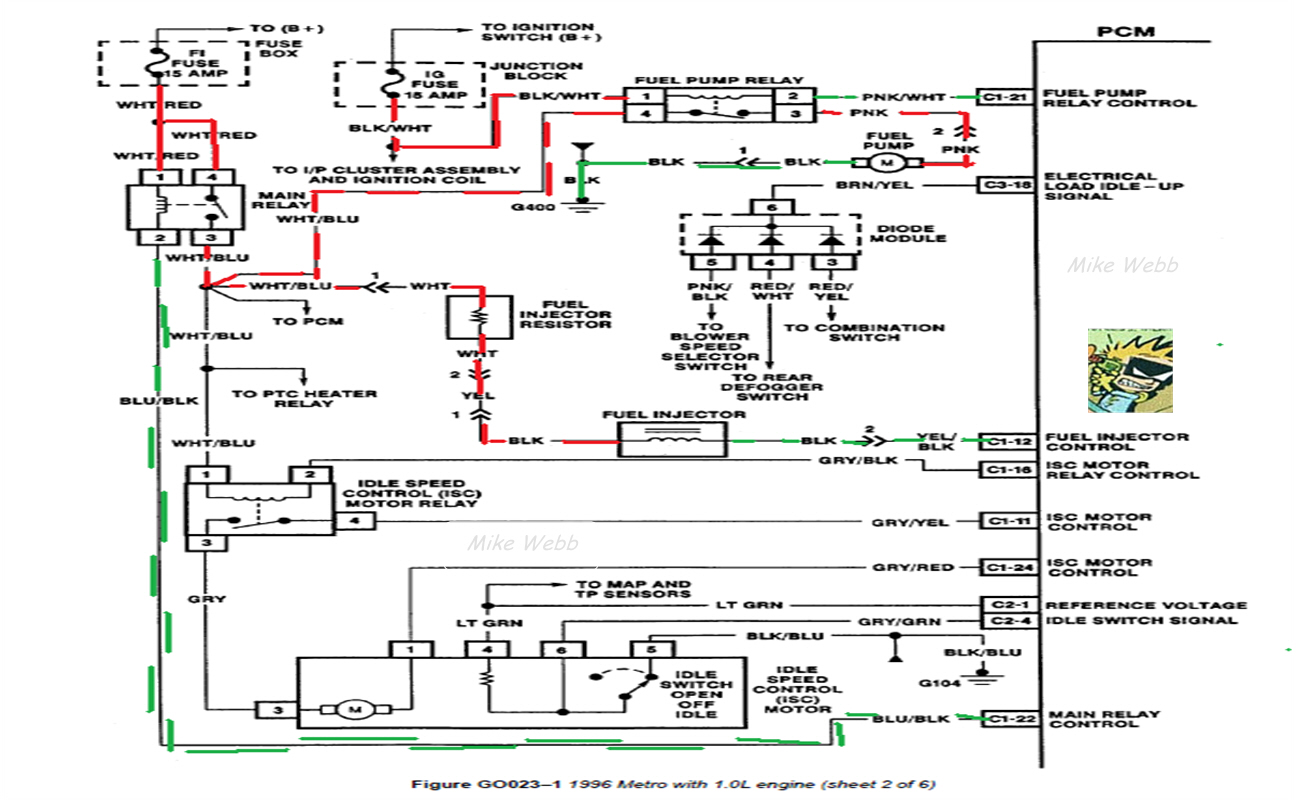 geo metro wiring diagram on radio geo metro alternator