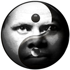 Yin Yang: Femininity/Masculinity, Black/White - Illustration