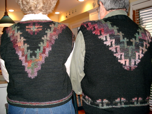 Navaho pullover vest