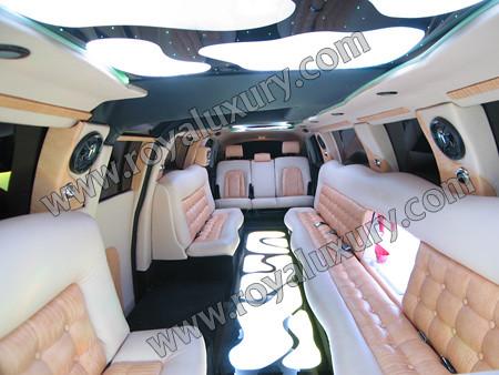 Audi Q7 limousine Interior from