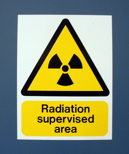 Radiation supervised area
