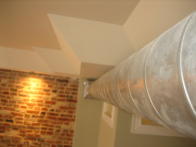 Exposed Spiral Duct : Exposed spiral duct flickr photo sharing