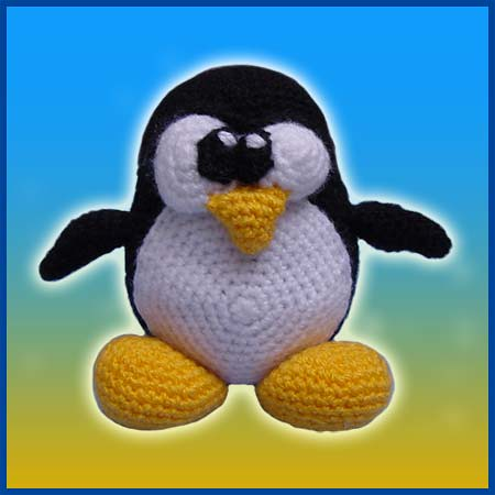 Original Tux - Amigurumi Pattern by DeliciousCrochet